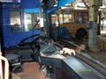 БКМ 321. Кабина водителя