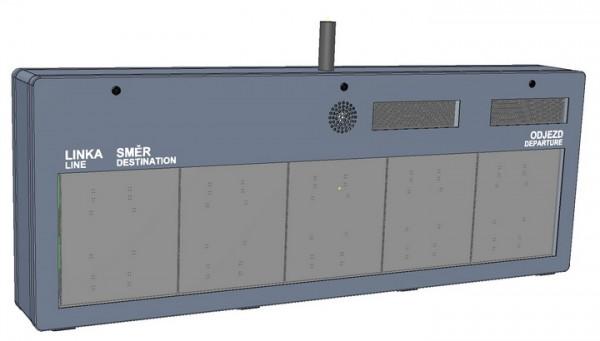 Графическая односторонняя светодиодная панель - ELP 33x.