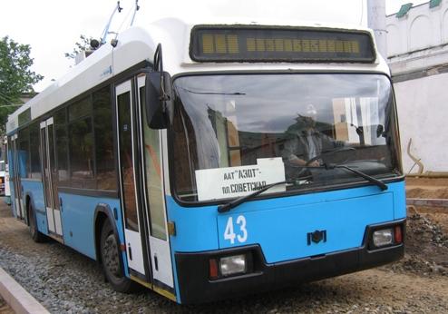 Троллейбус AKSM 32102