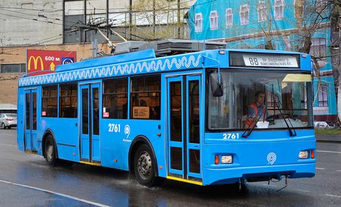 Троллейбус 5275 Оптима