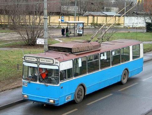 Троллейбус AKSM 101