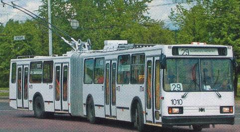 Троллейбус AKSM 213
