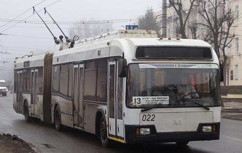 Троллейбус AKSM 33302
