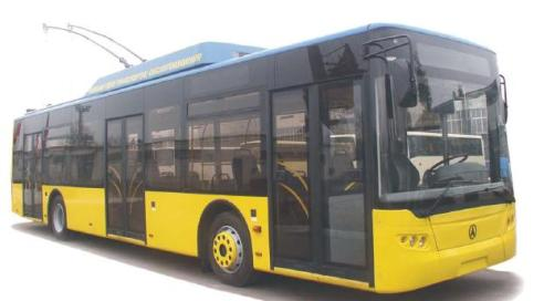Троллейбус LAZ-E183