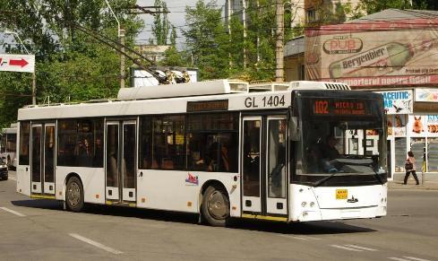 Троллейбус МАЗ-ETON T203