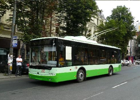 Троллейбус Богдан Т601.11