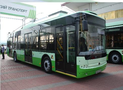 Троллейбус Богдан Т701.15