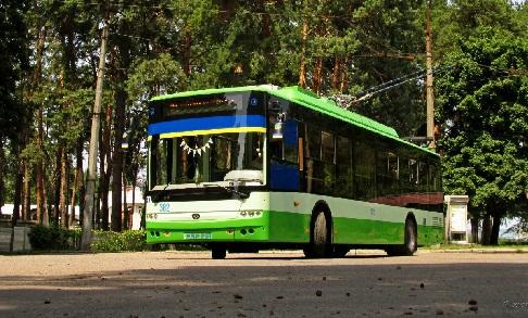 Троллейбус Богдан Т701.17