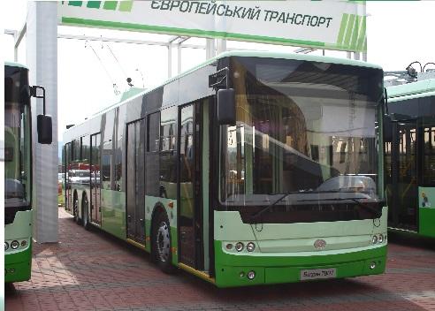 Троллейбус Богдан Т801.10