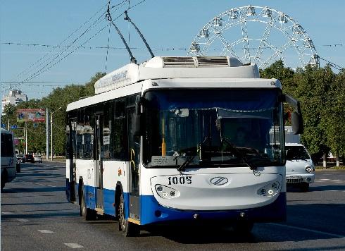 Троллейбус BTZ