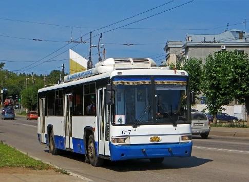 Троллейбус 52765