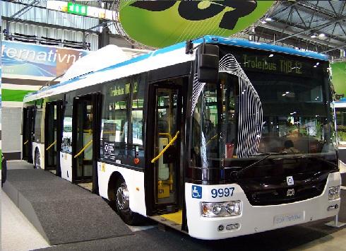 Троллейбус SOR TNB 12