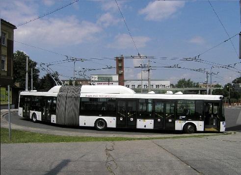 Троллейбус SOR TNB 18
