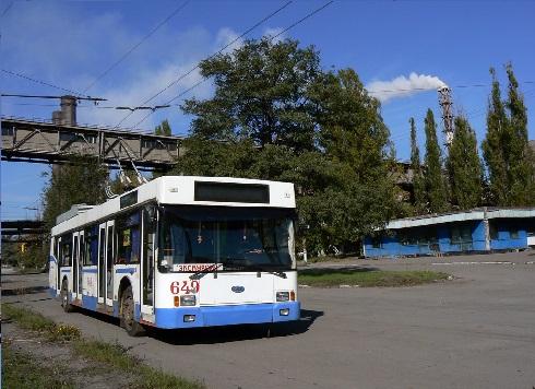 Троллейбус ЮМЗ Т2