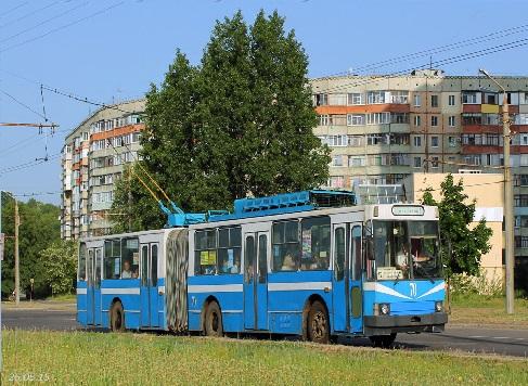 Троллейбус ЮМЗ Т1