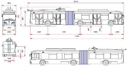 Троллейбус АКСМ 33302