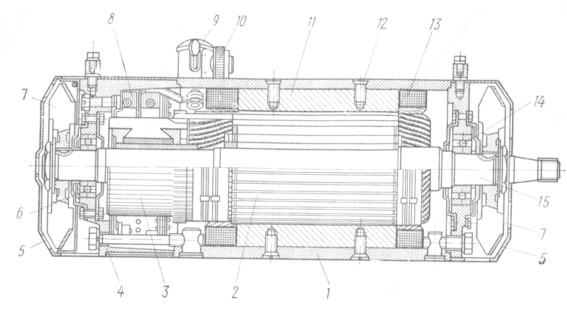Двигатель Г732А