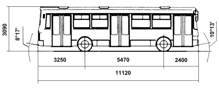 Троллейбус Laz 52522