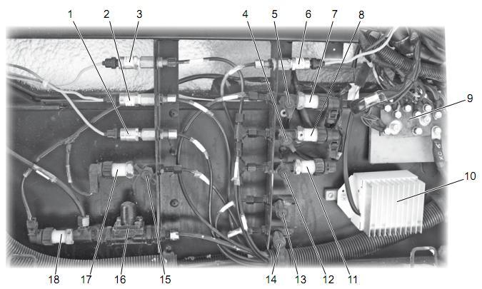 Блок диагностики пневмосистемы тормозов