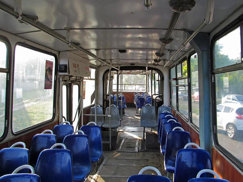 Rocar E217. Кабина водителя