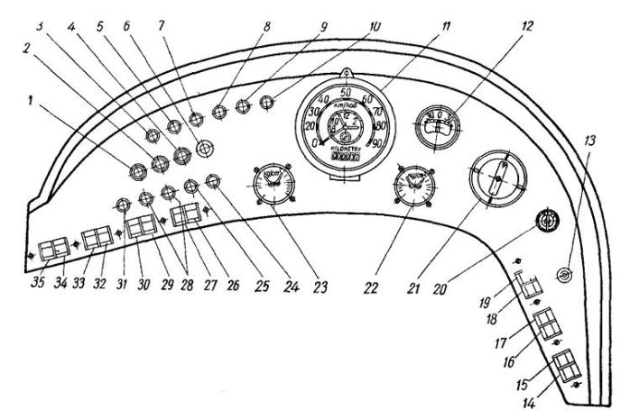 9 Tr Пульт управления