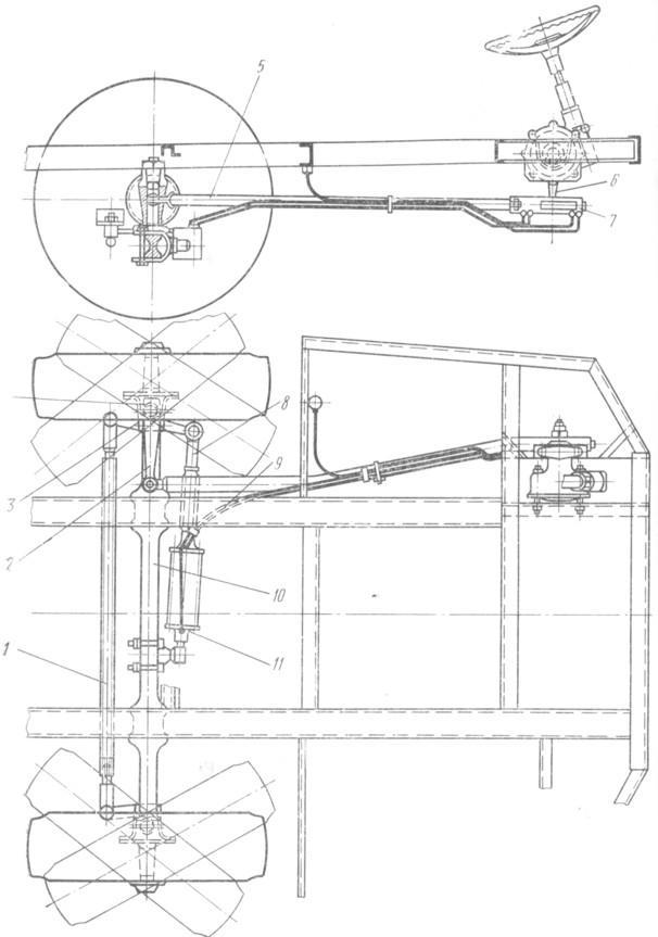 9 Tr Рулевой привод