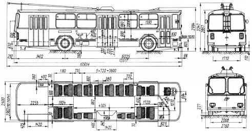 Троллейбус ZIU 9B