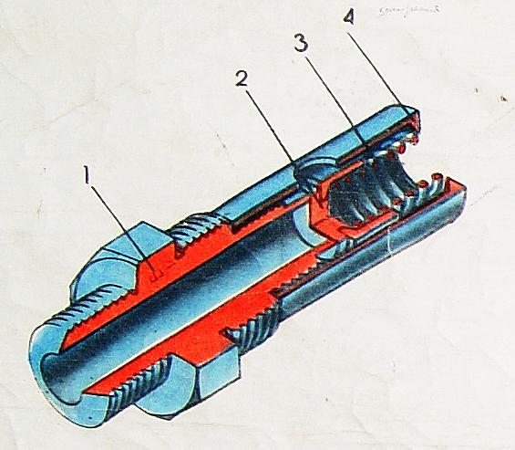Обратный клапан резервуаров
