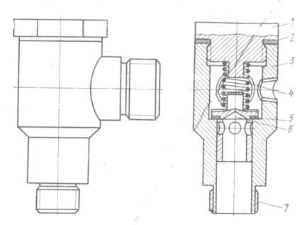 Обратный клапан компрессора