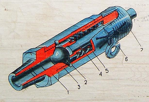 Предохранительный клапан компрессора