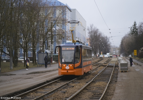 Трамвай КТМ-23