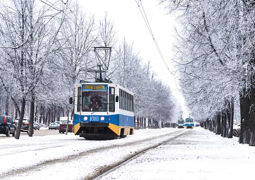 Трамвай КТМ-8К