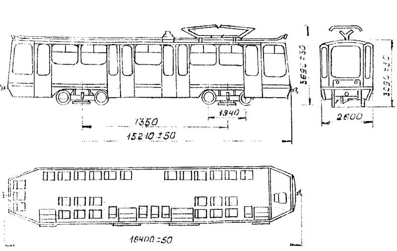 Трамвай. Чертеж